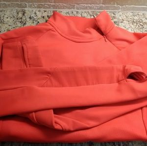 Coral Pink H&M Workout Pullover